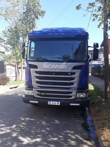 vendo camión scania g360 año 2019 practicamente sin rodar