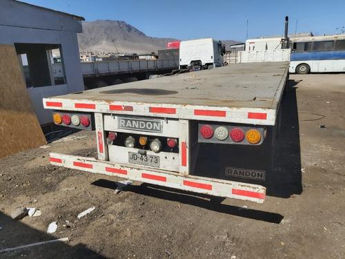vendo camion y rampla (equipo completo)