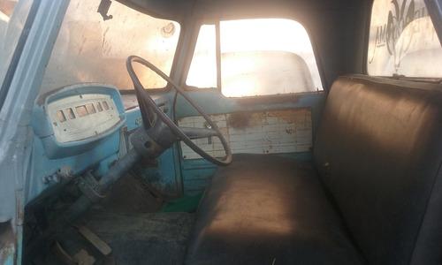 vendo camioneta dodger fargo del 66 para reparar