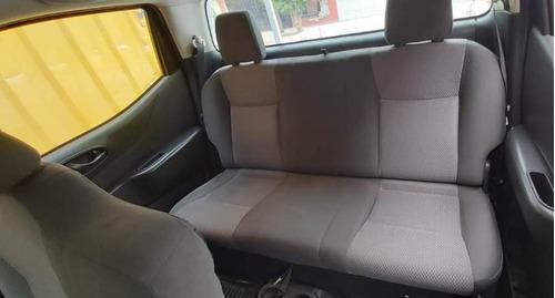 vendo camioneta nissan np300 2016 full motor sellado economi