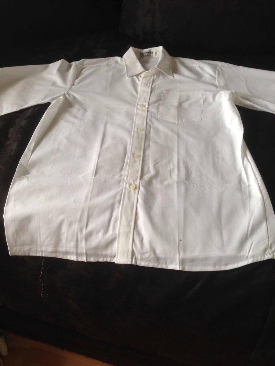 vendo camisa hombre blanca vestir cuello y puños muy buena c. Cargando zoom. 9e231a573d1