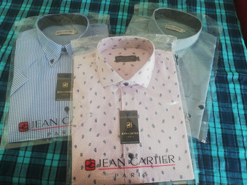 vendo  camisas jean cartier