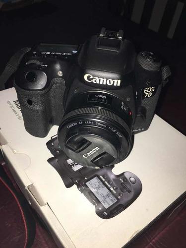 vendo canon 7d mark 2