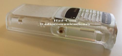 vendo carcasa transparente (kit cosmetico) motorola pro5150