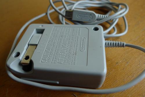 vendo cargador nintendo 3ds, 3ds xl fuente de poder original