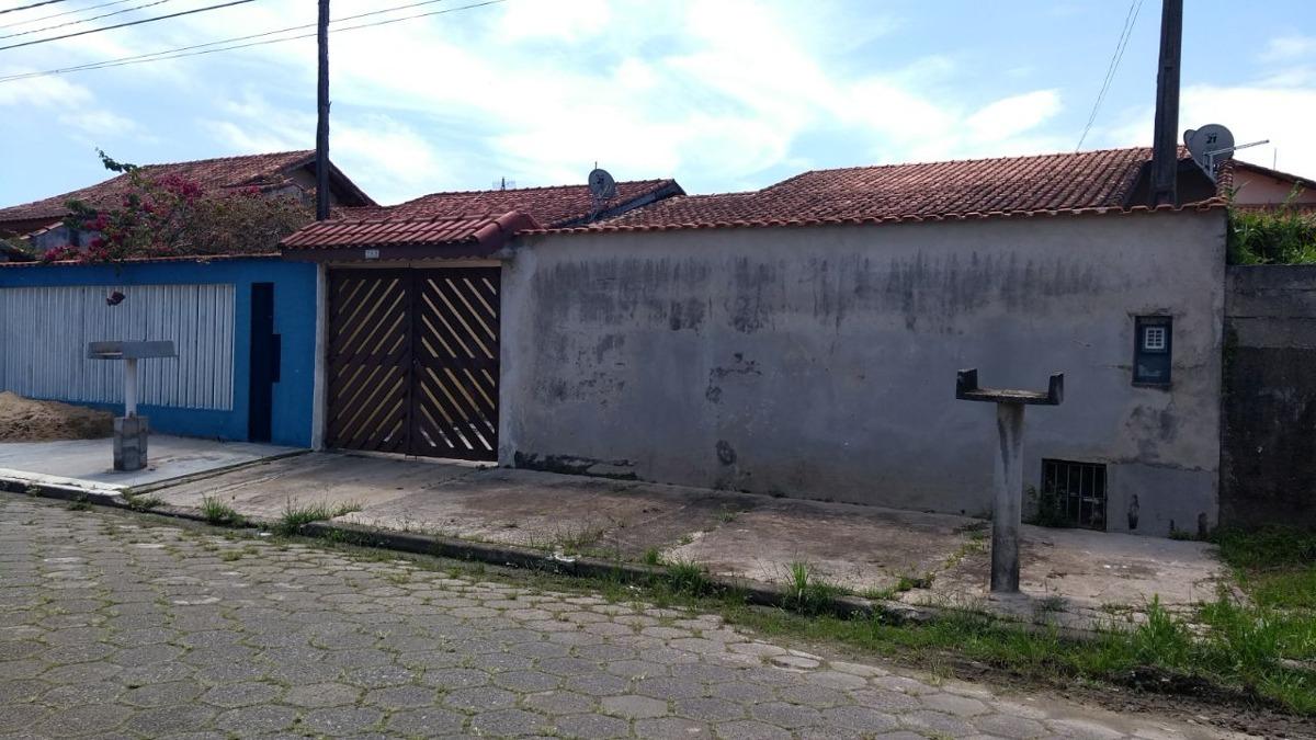 vendo casa com edicula lado praia  itanhaém litoral sul  sp