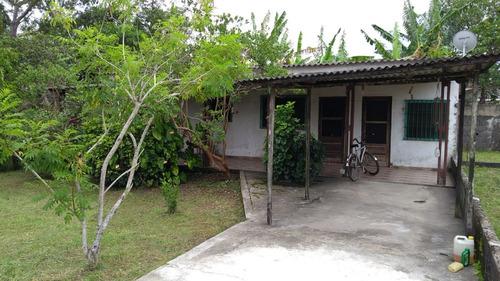 vendo casa com terreno grande  em  peruíbe  litoral sul  sp