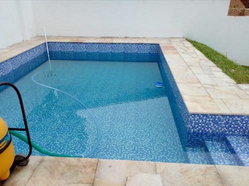 vendo casa con piscina y un departamento en san bernardino.