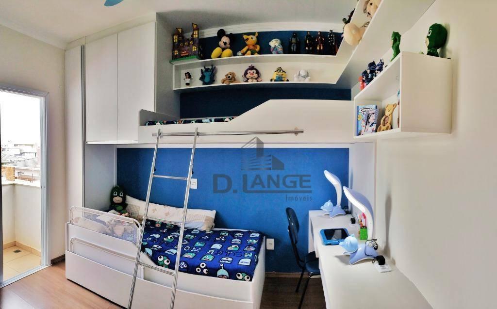 vendo casa cond. fechado -  03 dormitórios à venda, 170 m²  - valinhos/sp - ca12753