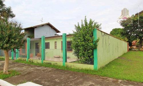 vendo casa de três dormitórios, terreno amplo, bairro harmonia em canoas rs - ca0535