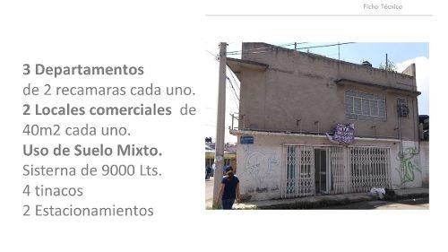 vendo casa en cuautitlán izcalli con uso de suelo