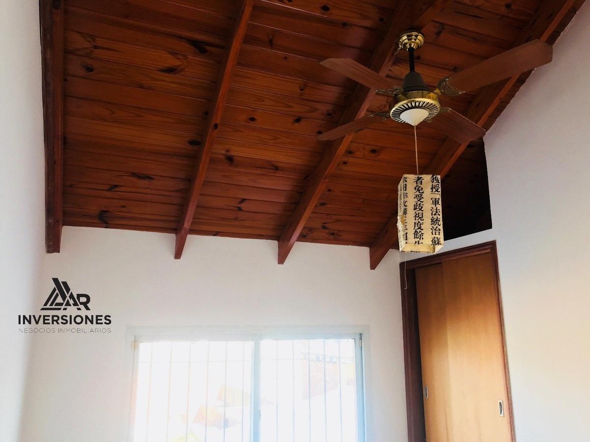 vendo casa en fisherton - 3 dormitorios - acepto permuta