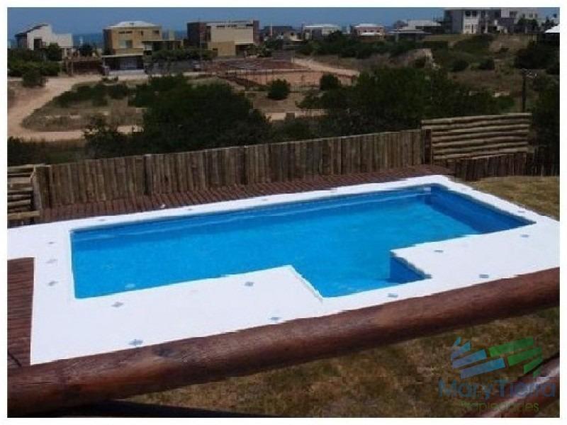 vendo casa en solanas, 3 dormitorios, cerca del mar, punta del este.-ref:1590
