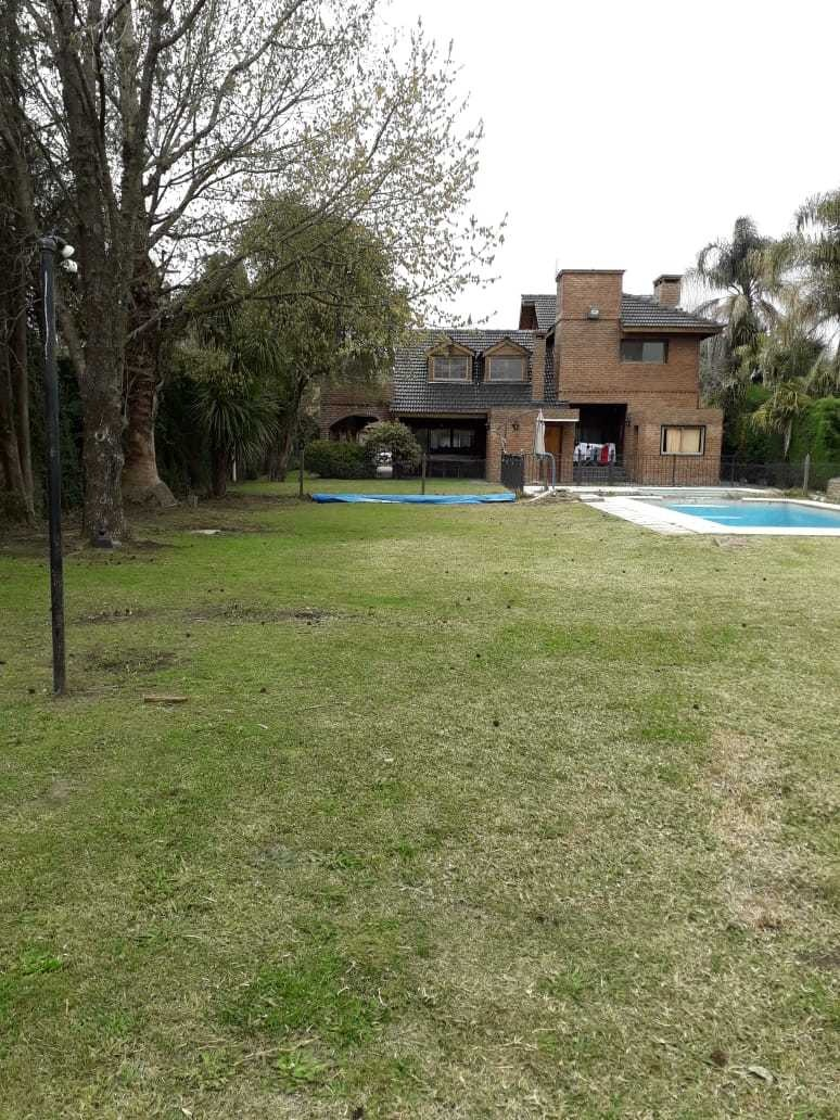 vendo casa lote country las lajas con pileta. financiado