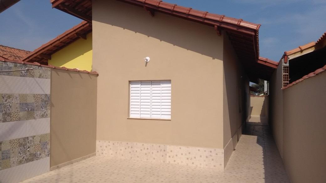vendo casa nova lado praia  em  itanhaém litoral sul de sp