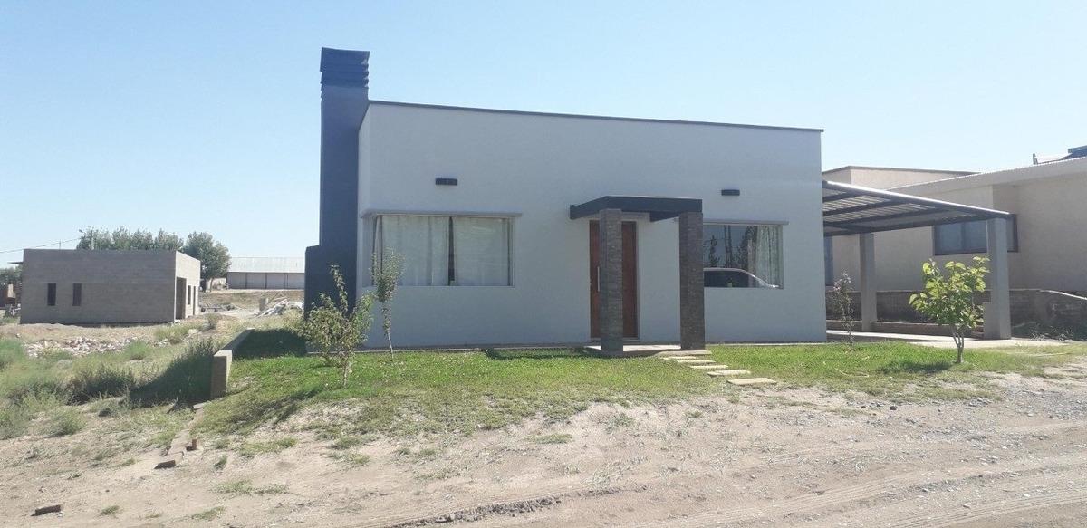 vendo casa nueva en club de pescadores el nihuil san rafael mendoza