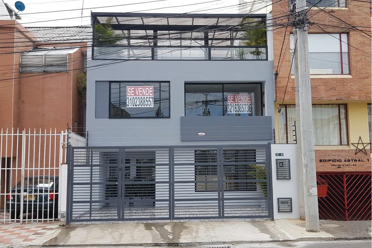vendo casa /  oficina cedritos remodelada 260 m2 + terazza