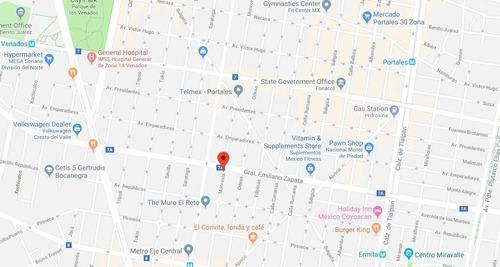 vendo casa remate bancario en  colonia portales norte, cdmx