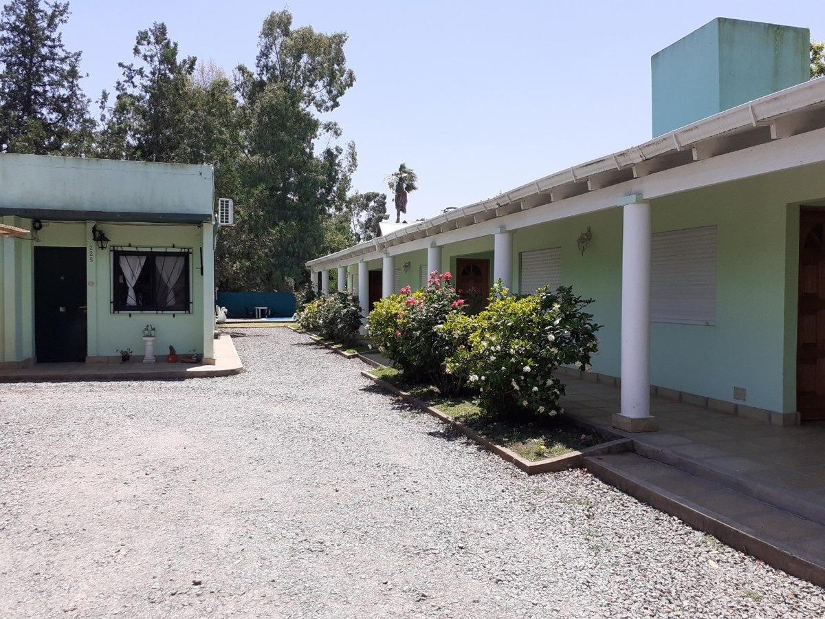 vendo: casa y hotel en san miguel del monte, habilitado
