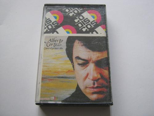 vendo cassette- alberto cortez -como el primer dia