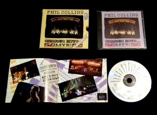 vendo cd de phill collins hits. de colección. importado.