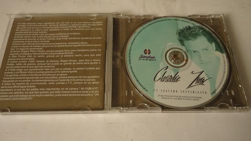 vendo cd original charlie zaa-un segundo sentimiento