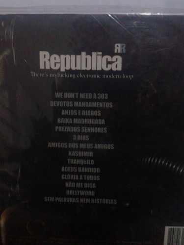 vendo cd original - republica -