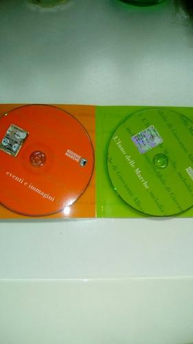 vendo cd y mapa de region  de italia, ideal colección.