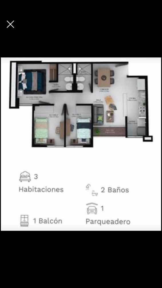 vendo-cedo apartamento en planos
