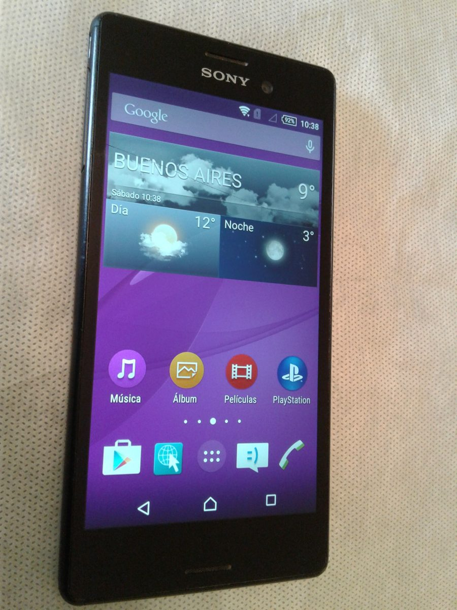 0200dc6f43e Vendo Celular Sony Xperia M4 Aqua - $ 6.000,00 en Mercado Libre