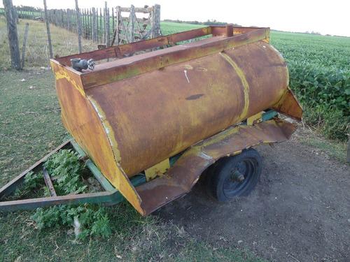 vendo chango cisterna tanque de combustible de 1.500 litros