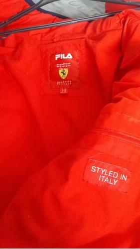 vendo chaqueta ferrari italiana original talla m