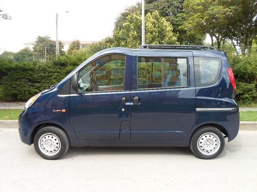 vendo chery vanpass 9 pasajeros, 1.3, 5 ptas azul met.