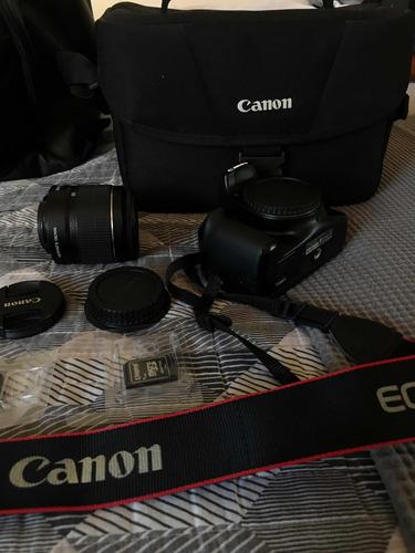vendo câmera canon eos rebel t3