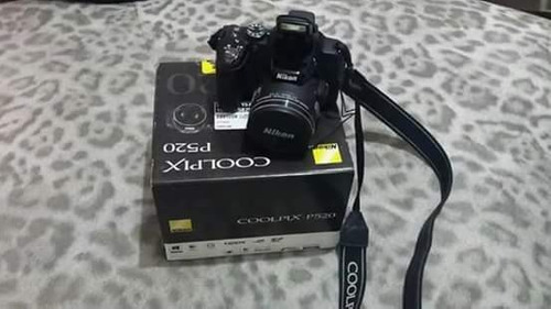 vendo câmera nikon p520