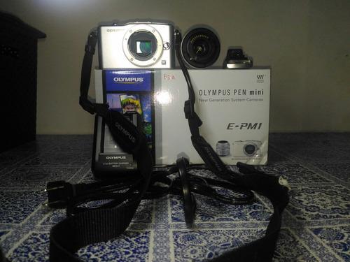 vendo câmera olympus pen mini e-pm1, 12 mp