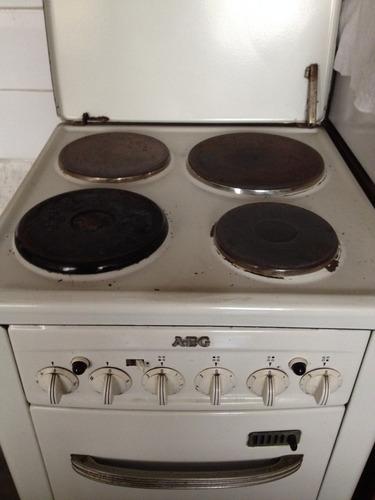 vendo cocina electrica en funcionamiento marca alemana (aeg)