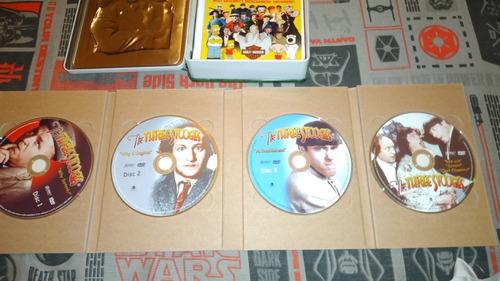 vendo coleccion dvd los tres chiflados.