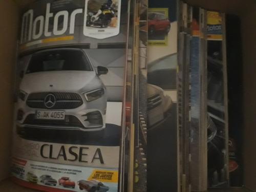 vendo colección revista motor