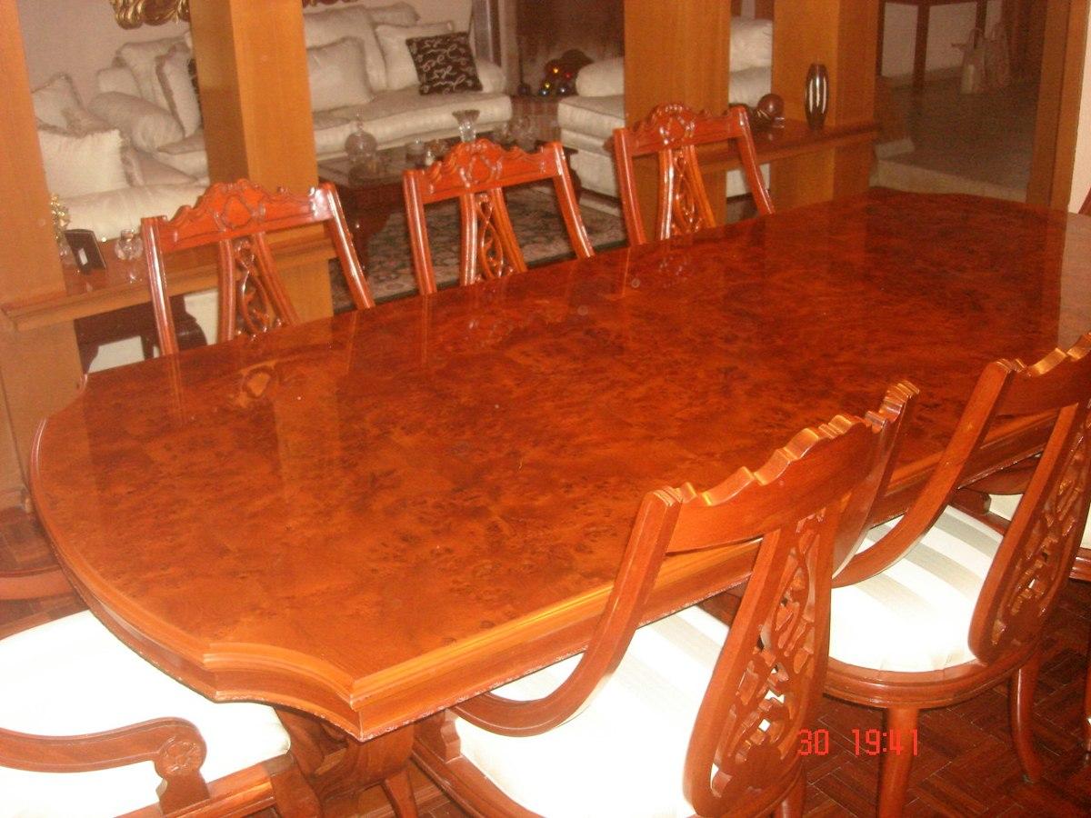 Vendo Comedor Rey Salomon 8 Personas $60,000.00 En Torreon - $ 55,000.00