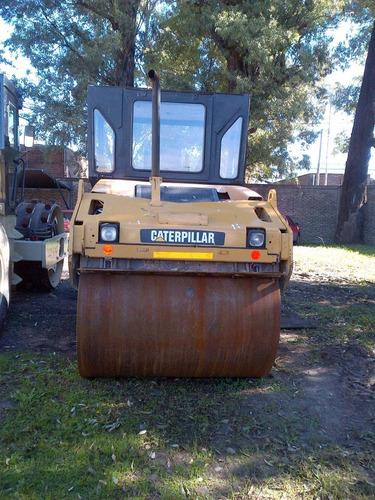 vendo compactador doble liso caterpillar 534 d