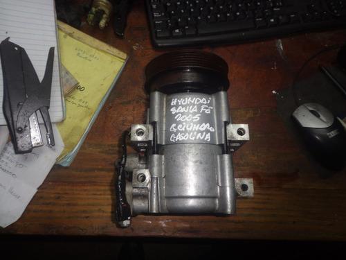 vendo compresor aire acondicionado de hyundai santa fe, 2005