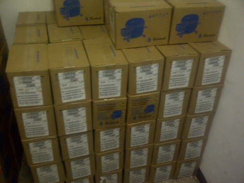 vendo compresores de nevera 1/6 marca tekusem brasil.