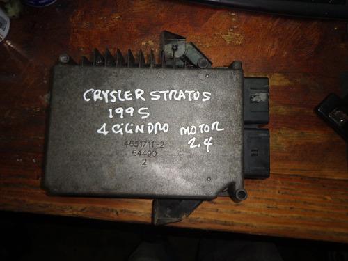 vendo computadora de chrysler stratus,1995, 4 cil. motor 2.4
