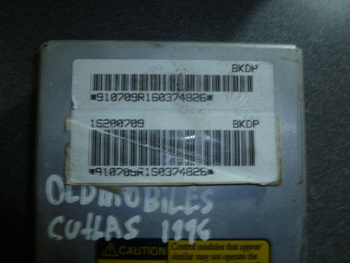 vendo computadora de oldsmobile cutlas año 1996, 6 cilindros