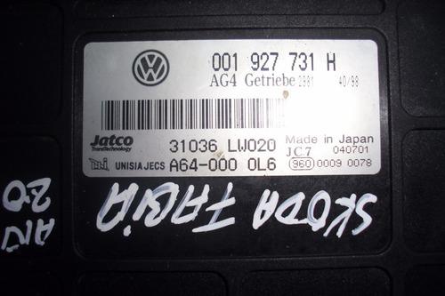 vendo computadora de skoda fabia, año 2005, # 001 927 731 h