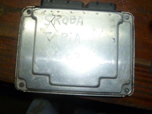 vendo computadora de skoda favia, año 2003, diesel.