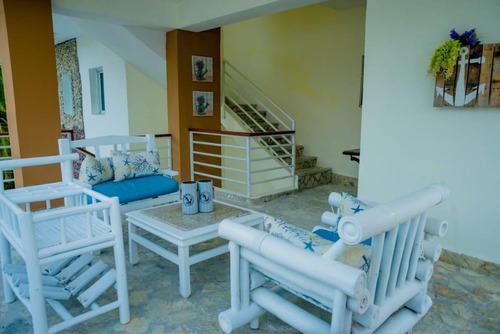 vendo confortable aparthotel amueblado, cerca de playa
