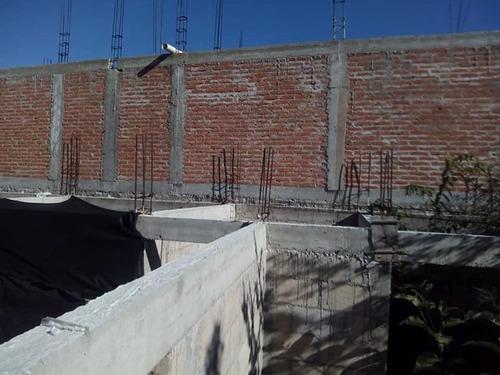 vendo  construcción en obra negra