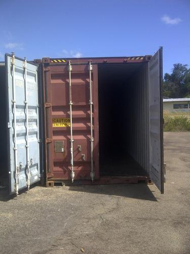 vendo contenedor de 12 mts 40 pies y 6 mtrs 20 pies